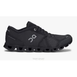 On Running on running Cloud X - Homme - Black / asphalt - CHAUSSURES DE COURSE TRIATHLON