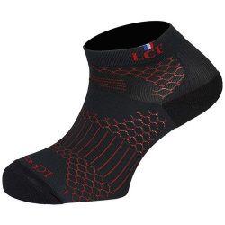 Chaussettes ALberta - Rouge/Noir