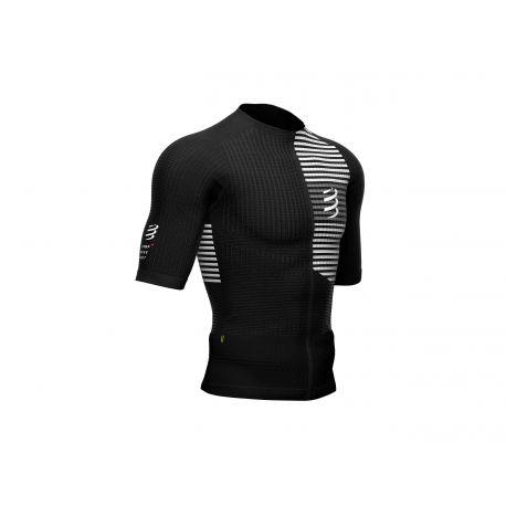 compressport Tee-Shirt de Triathlon - Tri postural SS top noir