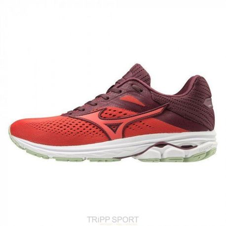Mizuno Wave Rider 23 - Femme - rose - chaussure de course à pied running