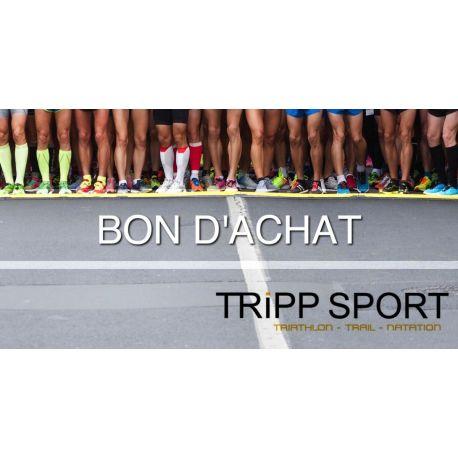 Bon d'achat Tripp Sport Magasin de Sport Lille Lens Bethune Arras Liévin