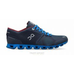 On Running on running Cloud X - Homme - Midnight / Cobalt - CHAUSSURES DE COURSE TRIATHLON