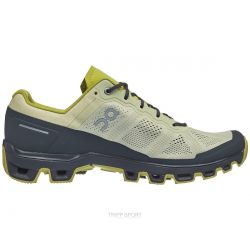 On Running Cloudventure - Homme - Hay / Rock - CHAUSSURES DE trail