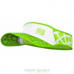 Compressport Visière UltraLight Spiderweb vert