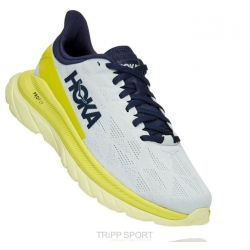 Hoka One One Mach 4 BLUE FLOWER / CITRUS (HOMME)