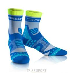 Compressport Chaussettes Racing socks ULTRALIGHT RUN HI Bleu
