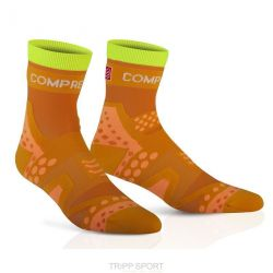 Compressport Chaussettes Racing socks ULTRALIGHT RUN HI Orange
