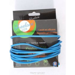 FreeLace Lacets silicone Freelace TTR BLEU - FreelaceReborn