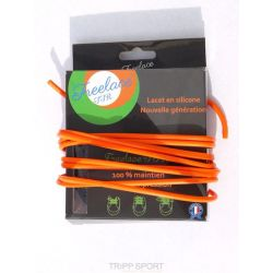 FreeLace Lacets silicone Freelace TTR ORANGE - FreelaceReborn
