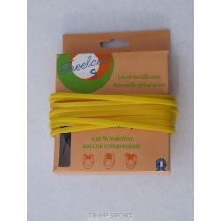 Lacets silicone Freelace'S - Jaune - FreelaceReborn