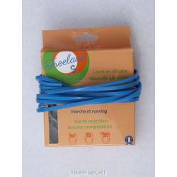 FreeLace Lacets silicone Freelace'S - Bleu Roy - FreelaceReborn