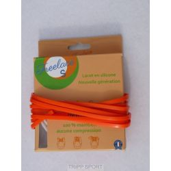 Lacets silicone Freelace'S - Orange - FreelaceReborn