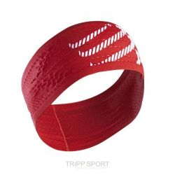Compressport Bandeau rouge