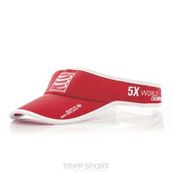 Compressport Visière Compressport - Rouge