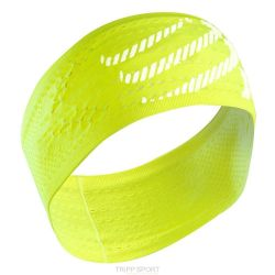 Compressport Bandeau Jaune