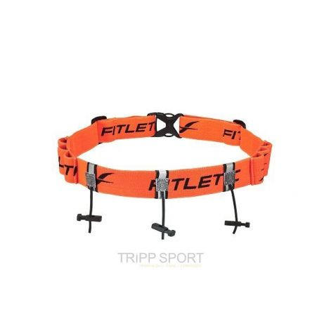 ceinture porte dossard 3 points avec porte gel orange tripp sport magasin triathlon trail. Black Bedroom Furniture Sets. Home Design Ideas