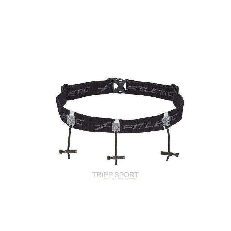 ceinture porte dossard 3 points noir tripp sport magasin triathlon trail natation course. Black Bedroom Furniture Sets. Home Design Ideas