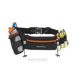 Fitletic Ceinture hydratation 360 ml + 4 porte gels Orange