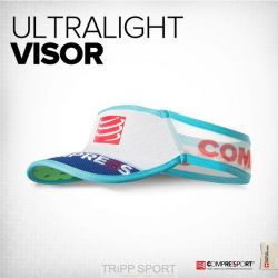 Compressport Visière UltraLight V2 Bleu