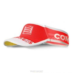 Compressport Visière UltraLight V2 Rouge