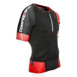 Compressport Maillot de compression Triathlon TR3 AERO TOP Noir