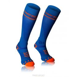 Compressport chaussette - Full Socks V2.1 - Bleu