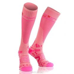 Compressport chaussette - Full Socks V2.1 - Rose