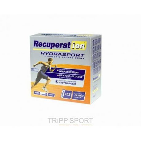 Boisson Recuperat ION : Orange (x 12 sachets)