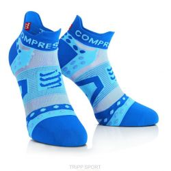 Compressport Chaussettes Racing socks ULTRALIGHT RUN LO Bleu