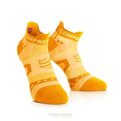 Compressport Chaussettes Racing socks ULTRALIGHT RUN LO Orange