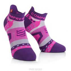 Compressport Chaussettes Racing socks ULTRALIGHT RUN LO Violet