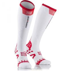 Compressport Chaussettes FULL SOCKS ULTRA LIGHT Blanc