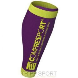 Compressport Manchons de Compression R2 V2 - Violet