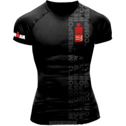 Compressport Running Tshirt - Ironman Smart Black