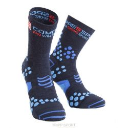 Compressport Chaussettes Compressport ProRacing Socks V2.1 Winter Run - Bleu