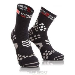 Chaussettes Run Compressport ProRacing Socks V2.1 Winter Run - Noir