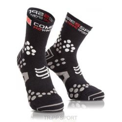Chaussettes Trail Compressport ProRacing Socks V2.1 Winter Trail - Noir