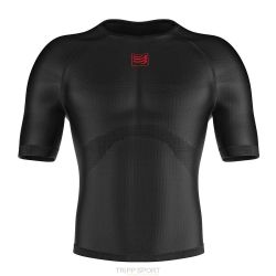 Compressport Sous-vêtement thermique 3D Thermo UltraLight LS Shirt Noir