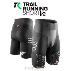Short Trail Running V2 Noir