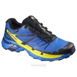 Salomon Chaussure Trail Running WINGS PRO 2 GTX® BL/GECKO GREE/BL