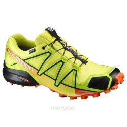 Salomon Chaussure Trail Running SPEEDCROSS 4 GTX® SULPHUR SP/LIME