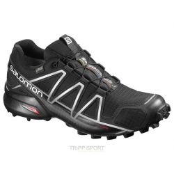Salomon Chaussure Trail Running SPEEDCROSS 4 GTX® BLACK/BLACK/SI