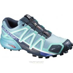 Salomon Chaussure Trail Running SPEEDCROSS 4 CS W BLUE GUM/BUBBLE