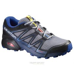 Salomon Chaussure Trail Running SPEEDCROSS VARIO PEARL GREY/BK/BL