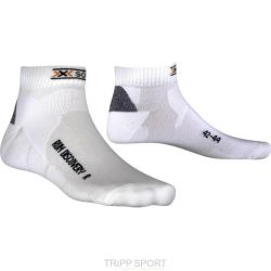 Compressport Chaussettes Running X SOCKS RUN DISCO V2 Blanc