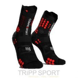 PRORACING SOCKS V3.0 (PRS V3) - TRAIL ROUGE / NOIR