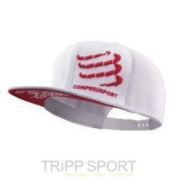Compressport Casquette Trucker Blanche