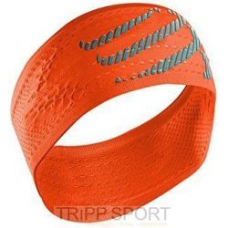 Compressport Bandeau Orange