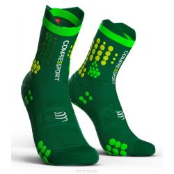 Compressport RACING SOCKS V3.0 TRAIL VERT