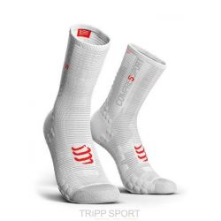 Compressport PRORACING SOCKS V3.0 (PRS V3) - VELO BLANC